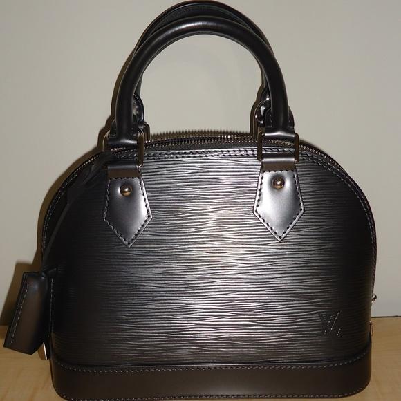 adc357a1a2c Louis Vuitton Bags   Alma Leather Bag Authentic   Poshmark